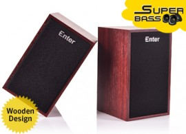 Mini Wooden USB Speaker Model No. E-S280