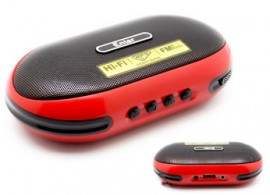Standalone Speaker with SD & USB Slot & FM (Rechargeable Battery) Model No. EDL-01