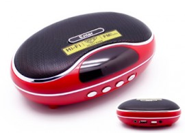 Standalone Speaker with SD & USB Slot & FM with Display (Rechargeable Battery) Model No. EDL-03