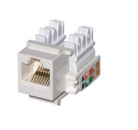 RJ 45 Keystone Cat5e Model No: E-K5