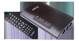 LCD TV Tuner with FM Model No. E-250EL