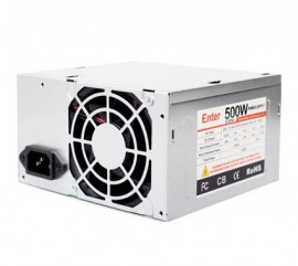 Computer Power Supply 500w Model No. E-500A