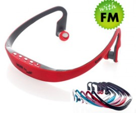MP3 Neckband with FM Model No. E-NB4