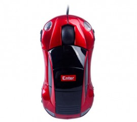 Wired Car Mouse Model No. ES-20