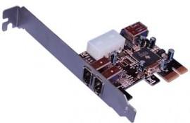 PCI-E Firewire Card – 400 MBPS