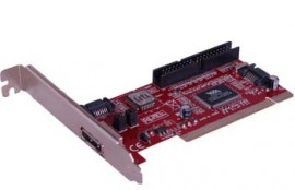 PCI 2 PORT SATA & 1 IDE PORT CARDS