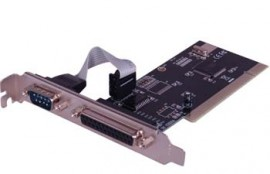 PCI Multi I/O Card-1 Serial & 1 Parallel