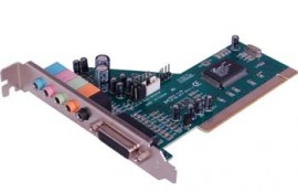 PCI Sound Card 6 Channel
