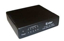 5 Port 10/100 Switch Model No: E-S5P