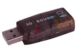 USB TO SOUND CARD (5 CHANNEL)