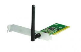 PCI Wireless Lan Card 54 mbps Model No: E-WPL