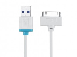 Quick Charge & Sync iPhone 30 Pin Cable Model No: E-I4UC