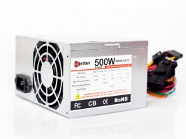 COMPUTER POWER SUPPLY 500W MODEL NO. E-500R